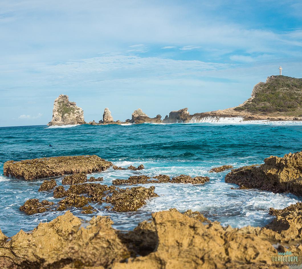 La Pointe des Chateaux, Insolite Guadeloupe Voyage