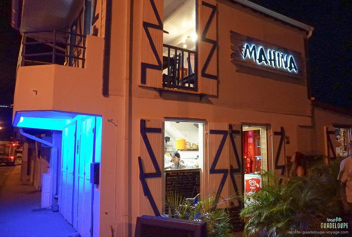 Mahina-restaurant-Créole-Deshaies-guadeloupe-façade