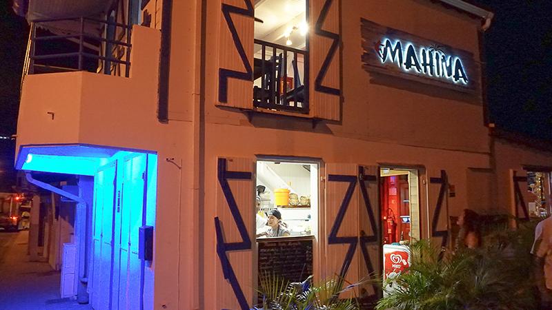 Mahina restaurant Deshaies