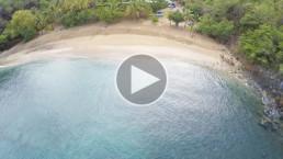 Plage de Petite Anse, Guadeloupe.