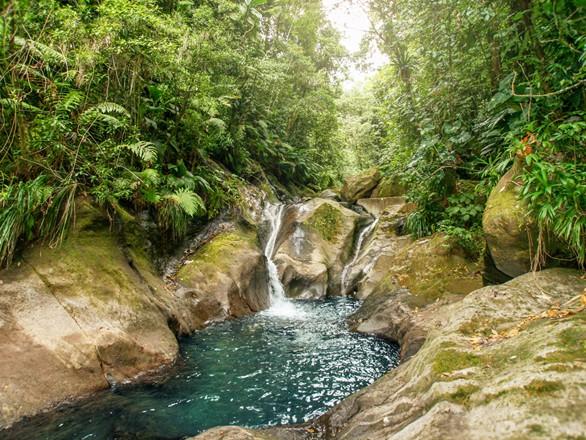 bassins bleus rivière Galion