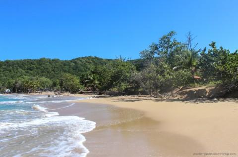 Plage de la perle Insolite Guadeloupe Voyage