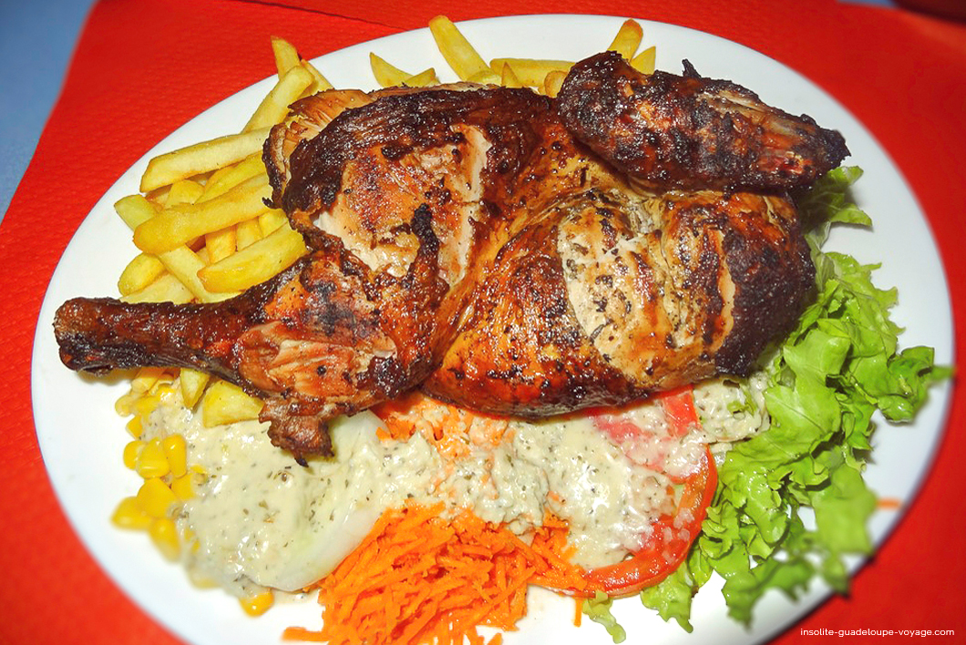 Jp poulet grill cr ole insolite guadeloupe voyage for Cuisine martinique