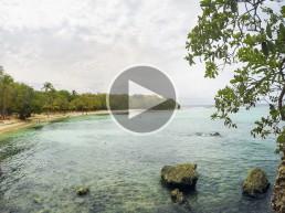 Plage de Petit-Havre, Le Gosier, Guadeloupe video