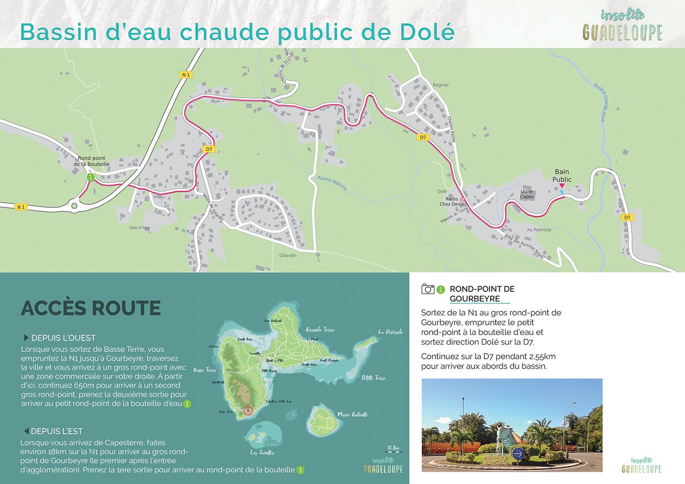 Carte acces route bain d'eau chaude public de Dolé-web