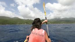 îlets Pigeon -rame pagaie canoë kayak mer-excursion-insolite-Guadeloupe-voyage
